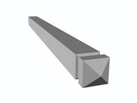 Bloc Pilier Beton 15x15